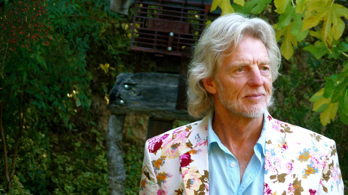 70th birthday photo in the garden. Check out the threads (Copy)