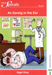 AN EARWIG IN THE EAR cover