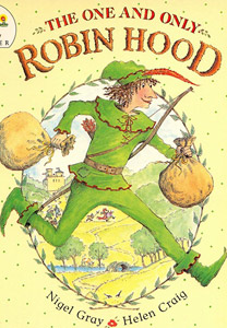 THE ONE AND ONLY ROBIN HOOD cover
