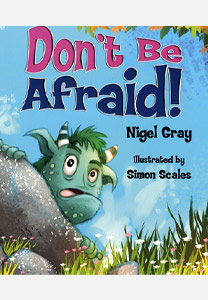 DON'T BE AFRAID cover