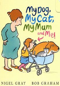 MY DOG, MY CAT, MY MUM AND ME cover