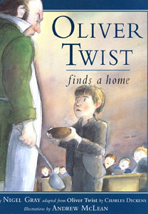 OLIVER TWIST FINDS A HOME cover
